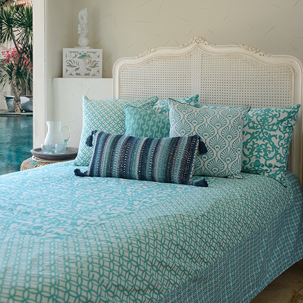 Turquoise Duvet Cover, in 2 sizes