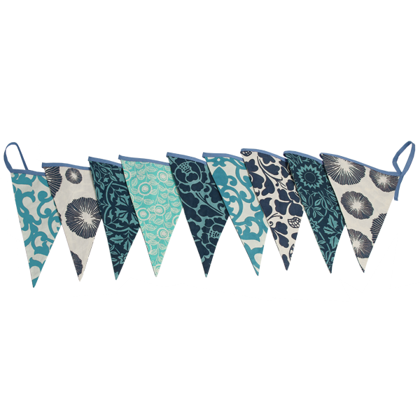 Bunting Flag Banner | Blue