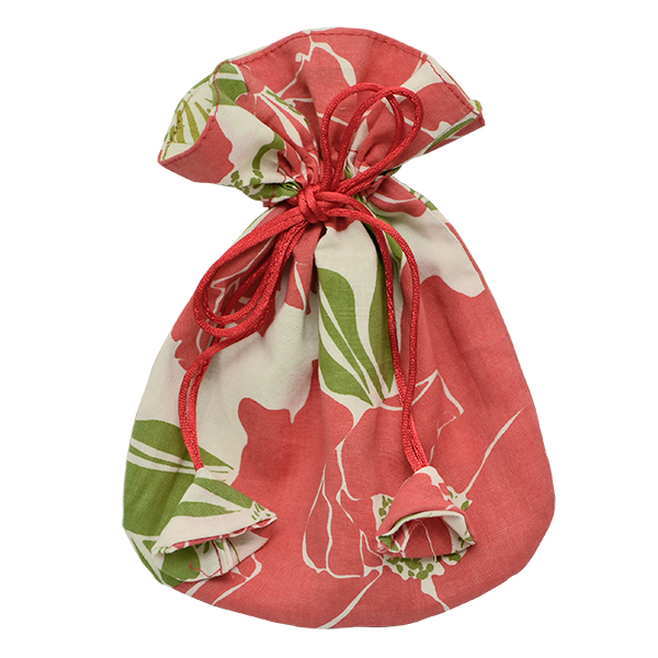Bags & Cases - Drawstring Bag Red Rose Small