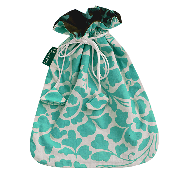 Drawstring Bag | Prada Turquoise Small (set of 2)