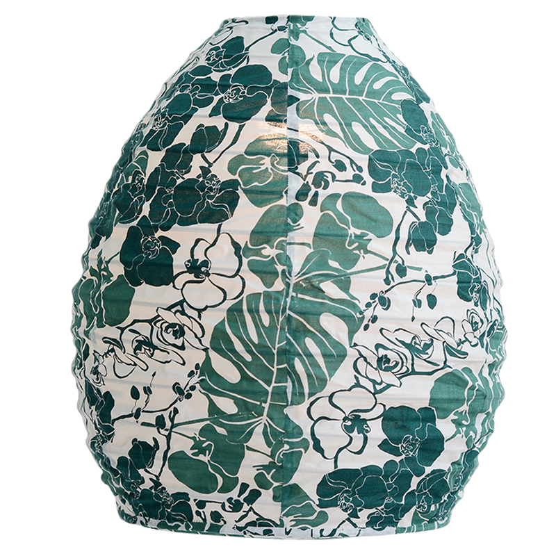 Hanging Lampshade | Orchid Emerald Beehive