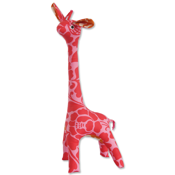 Scrappy Patchwork Giraffe | Pink (2 sizes)