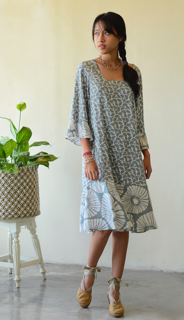 Bell Dress | Grey (3 sizes)