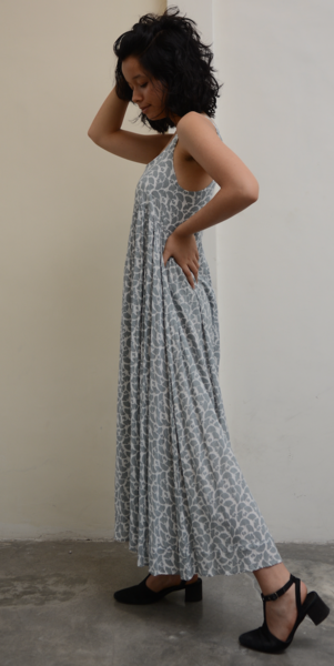 Romantic Dress | Ginkgo Grey (3 Sizes)