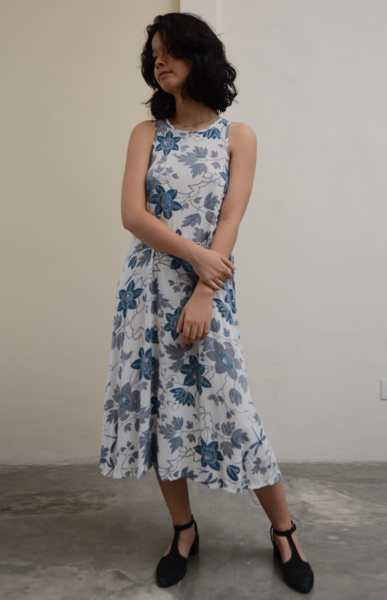 Swing Tank Dress | Passion Flower Blue (3 sizes)