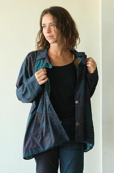 Lightweight Jacket | Upcycled Patchwork (2 sizes) - SALE
