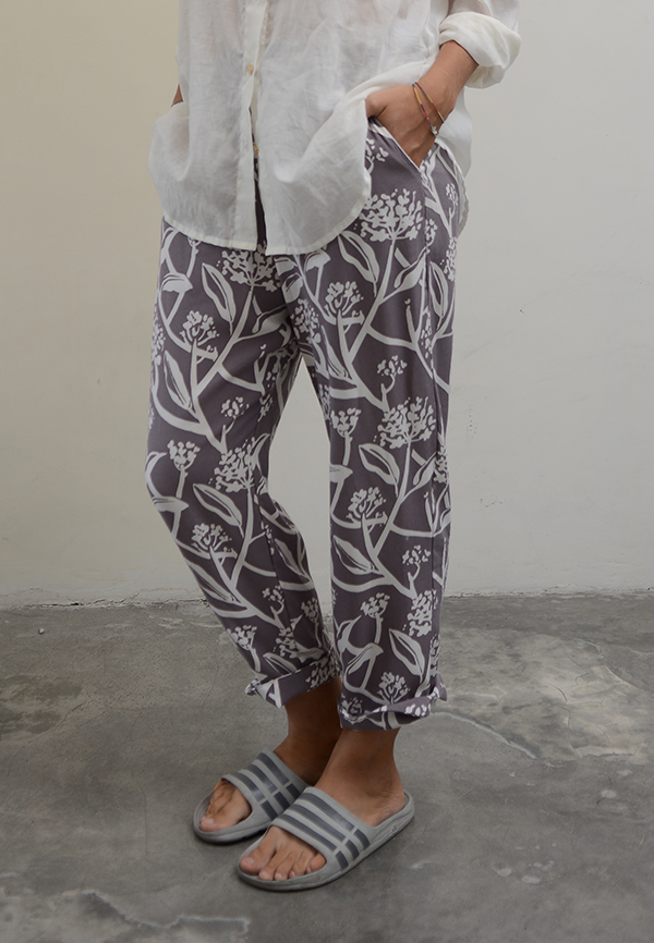 Lounging Pants | Frangipani Purple Haze (4 sizes)