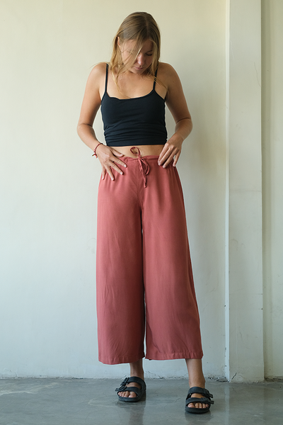Piazza Pants | Rust (3 sizes)