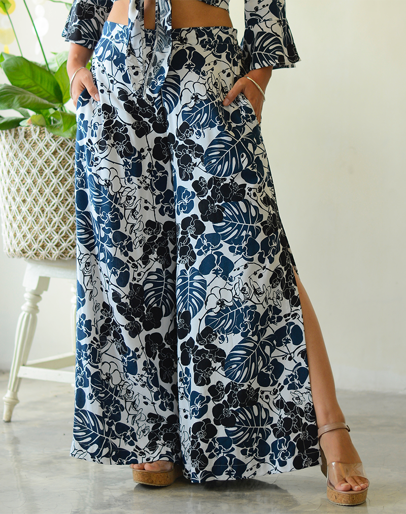 Wide Leg Pants | Orchid Midnight (2 sizes)
