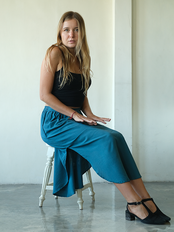 Easy Skirt | Dark Teal (3 sizes)