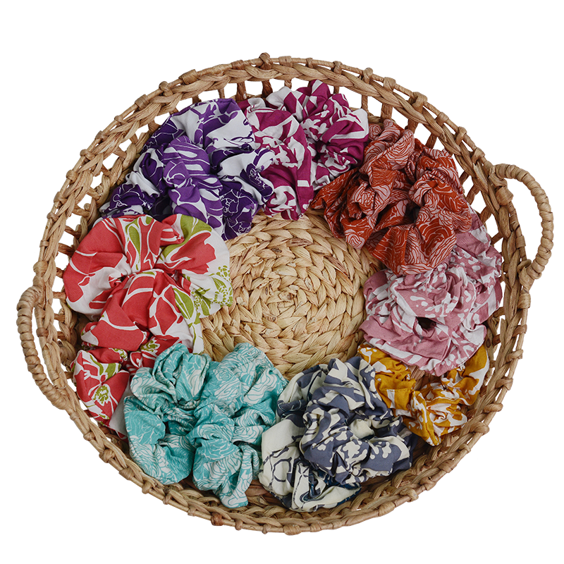 Rayon Scrunchies | Assorted (set of 4)