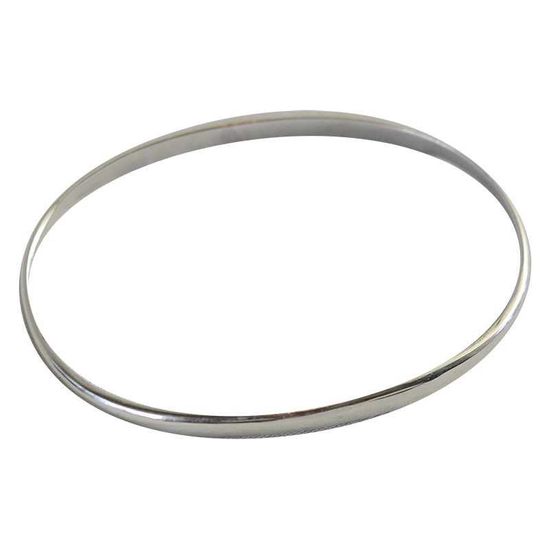 Silver Jewelry | Deluxe weight Oval Bangle