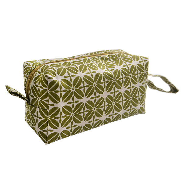Cosmetic Case Coffee Bean Avocado Medium