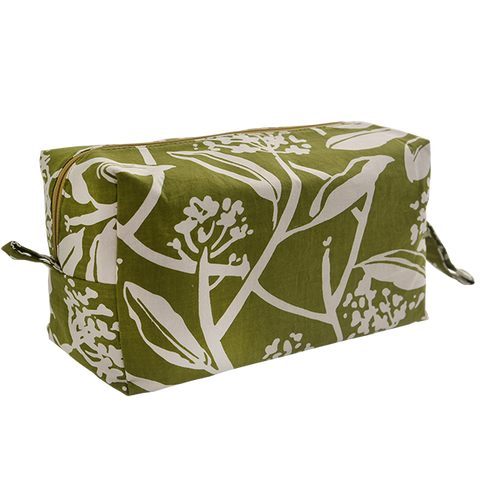 Bags & Cases - Cosmetic Case Frangipani Avocado Large