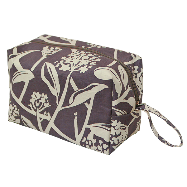 Cosmetic Case | Frangipani Purple Haze (large)