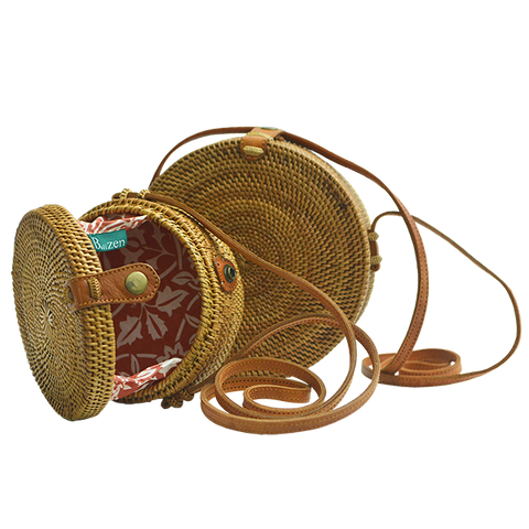 Bags & Cases - Hand Woven Atta Moon Bag, 2 sizes