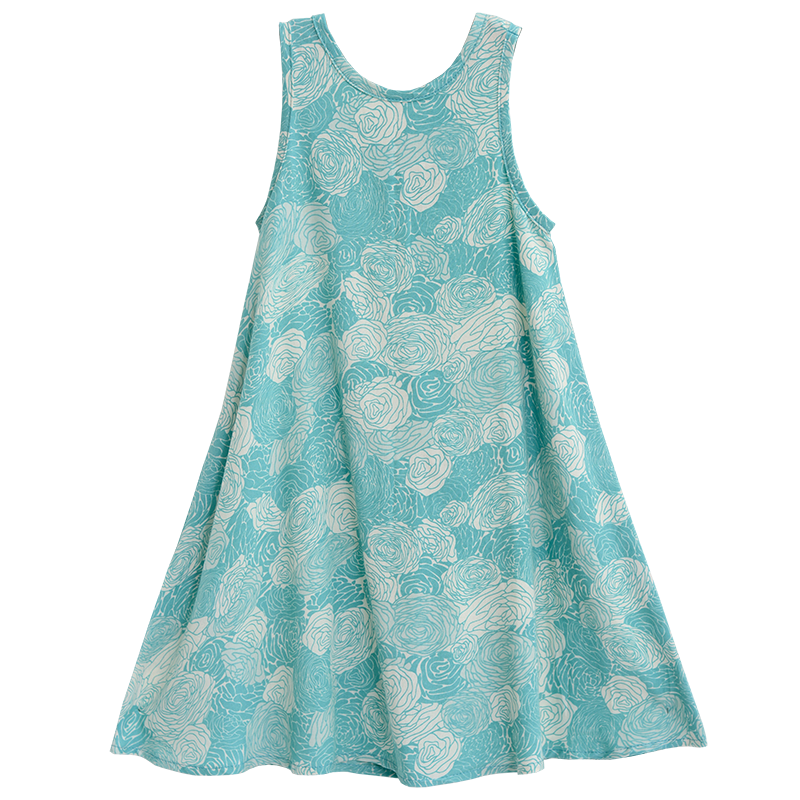 Child Swing Dress | Spring Flowers (5 sizes)