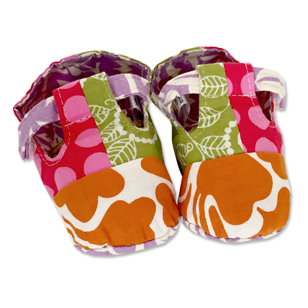 Scrappy Bib & Bootie set | Retro Pink (2 sizes)