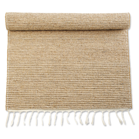 Vetiver Bath Mats - Small with Fringe