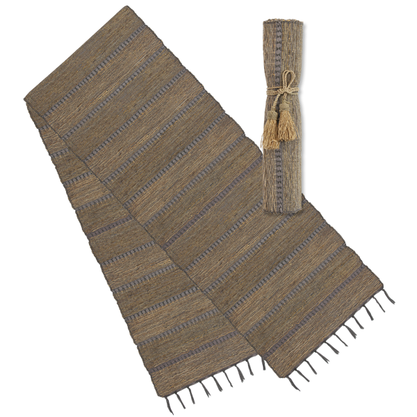 Vetiver Runner | Stormy Stripes