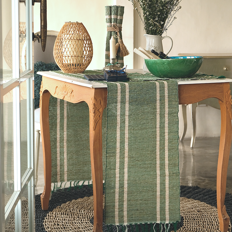 Vetiver Runner | Emerald