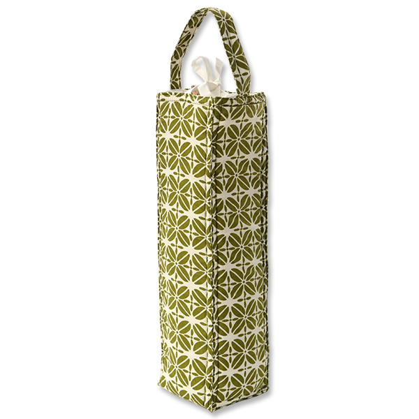 Wine Bag | Coffee Bean Avocado (set of 2)