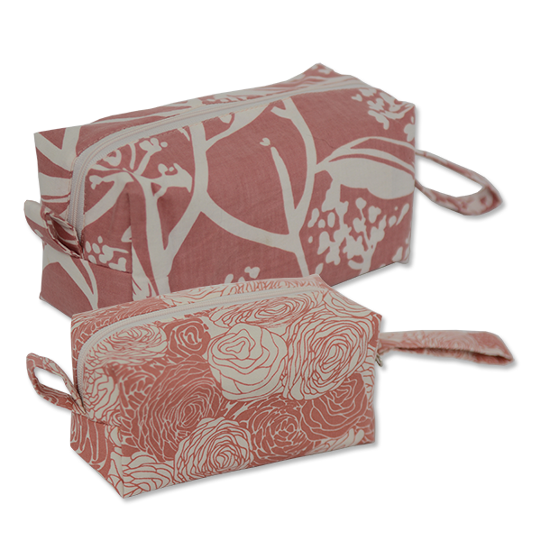 Bags & Cases - Cosmetic Case Blush Frangipani Medium