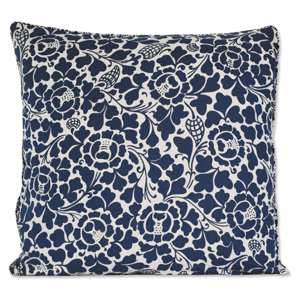 Cushion Cover - Indigo Prada, Large