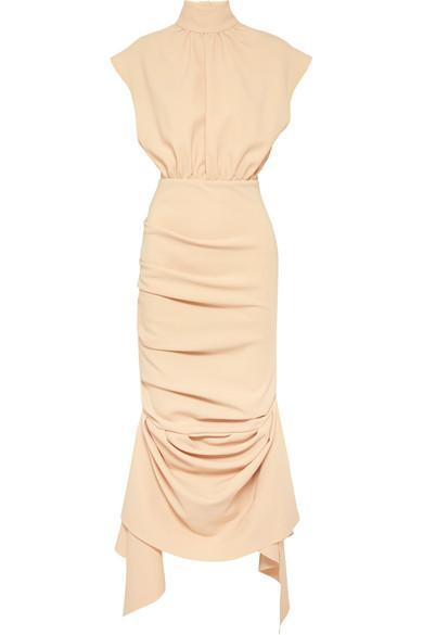 Nude Midi Dress Robe A.W.A.K.E MODE