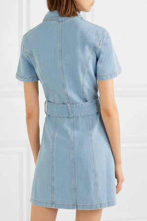 Mini Robe en Jean Mora - TownHouse Work/Shop