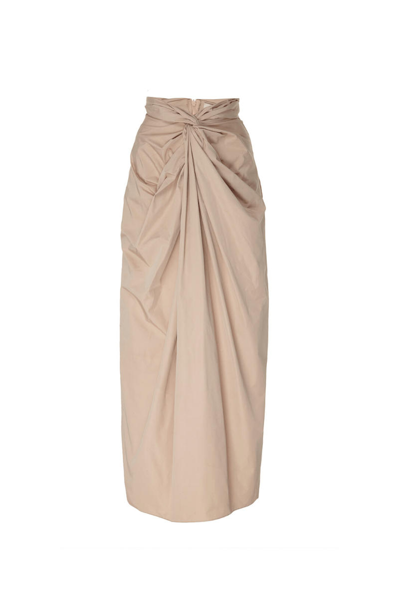 A.W.A.K.E Knot-Drape Maxi Skirt I TownHouse Work/Shop