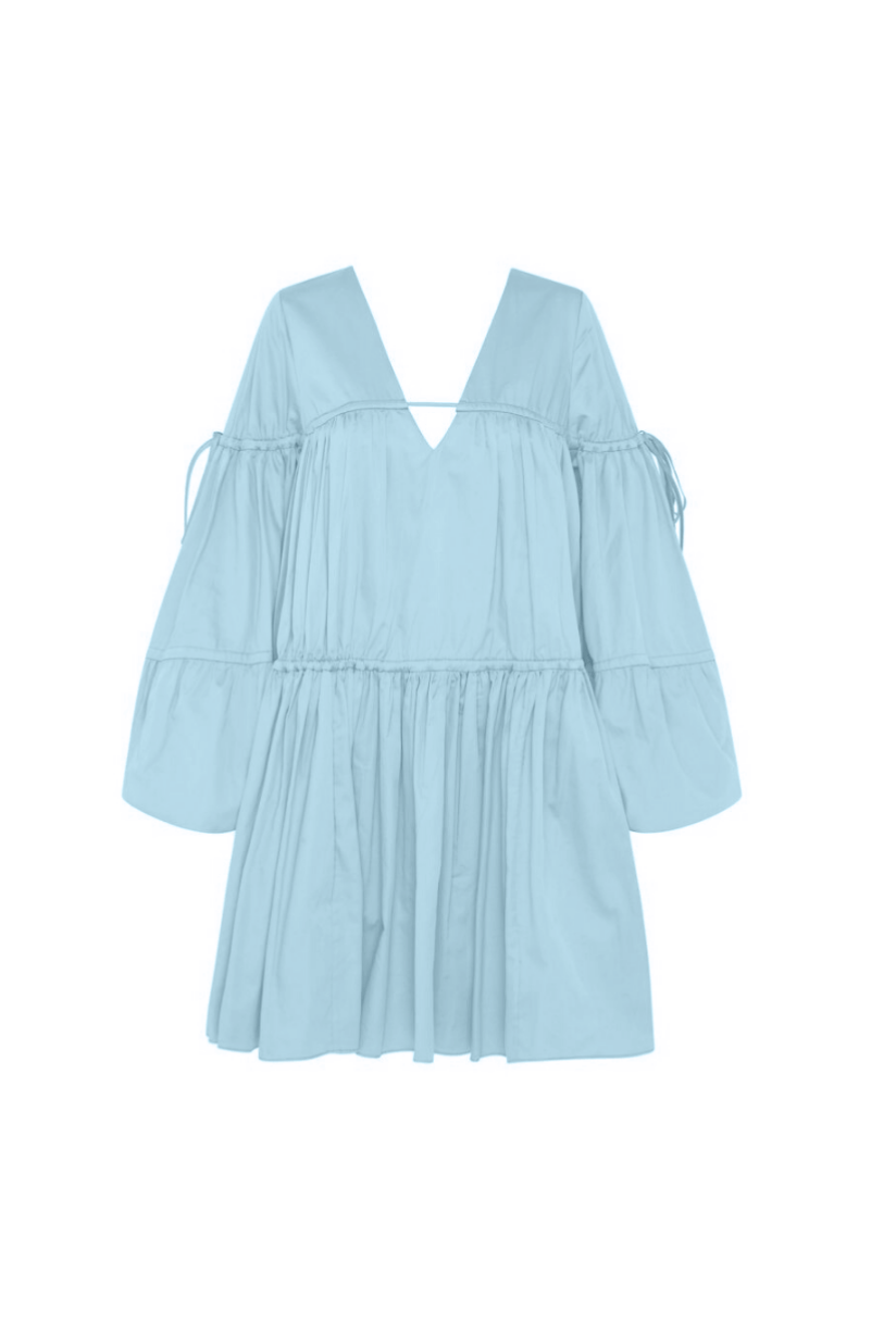 Aje Overture Gathered Cotton-Blend Smock I TownHouse Work/Shop
