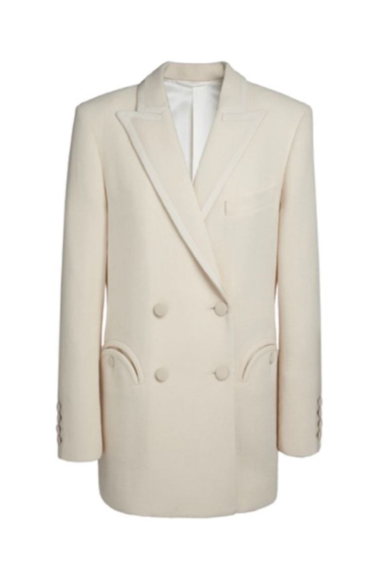 Essentials Resolute Cream Everyday Blazer Veste BLAZÉ MILANO