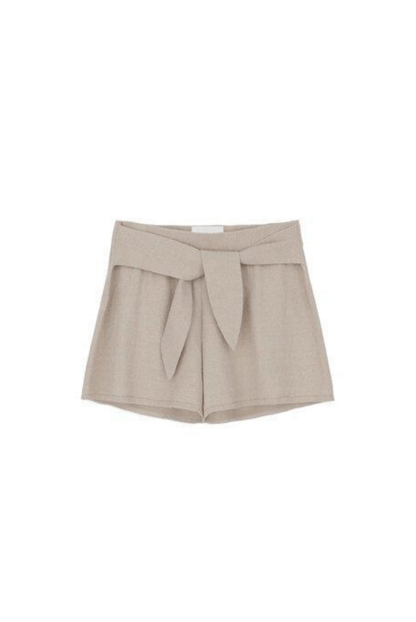 Jiji Tie Front short by Nanushka I Townhouse Workshop