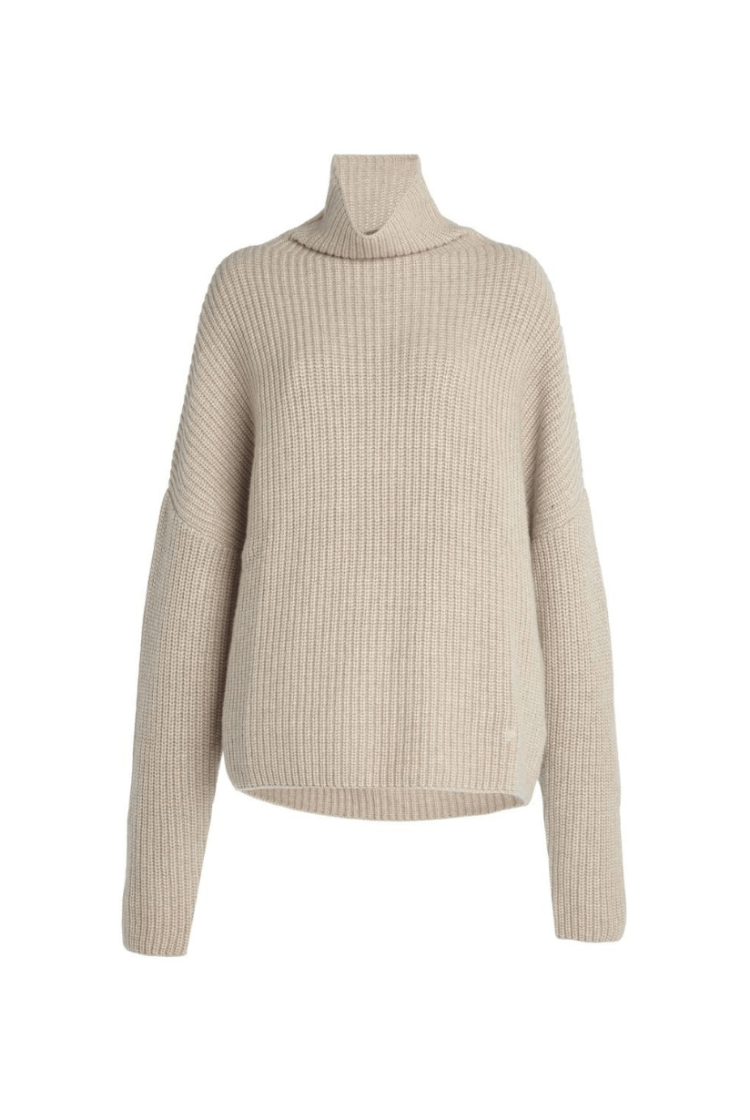 Loulou Studio Roscana Oversized Cashmere Turtleneck Sweater I TownHouse Work/Shop