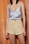 Rasa Denim Mini Shorts by Nanushka I Townhouse Workshop