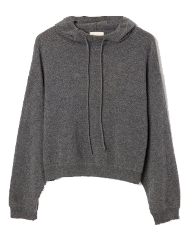 Sweat Cachemire Gris Pull LOULOU STUDIO