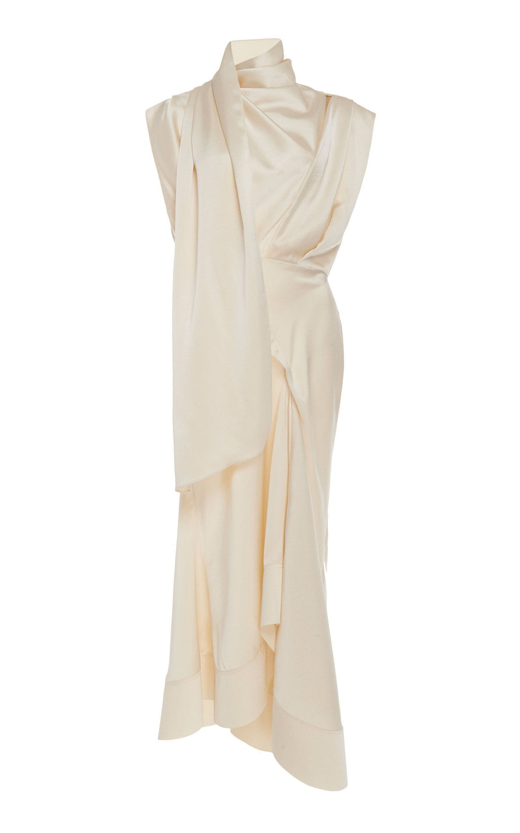 Acler Dalisay Draped Midi Dress I Townhouse Workshop