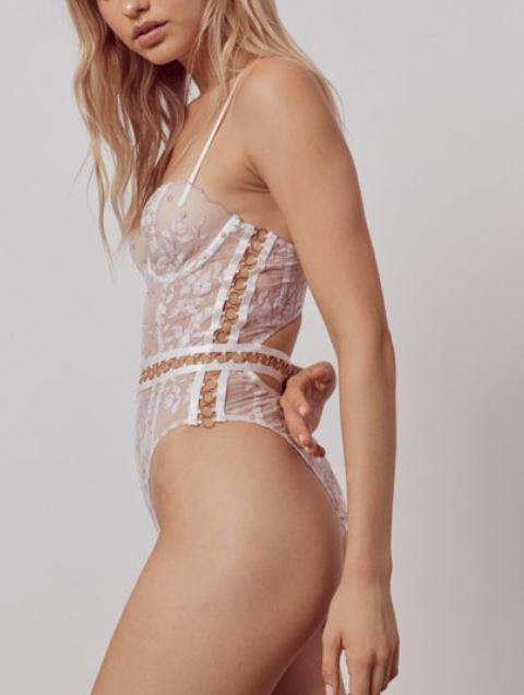 Mariette Bodysuit Lingerie FOR LOVE & LEMONS