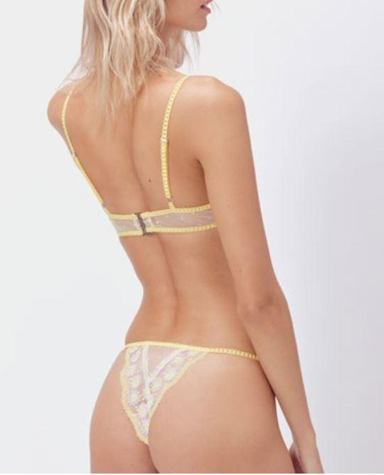 Lemon Drop Cheeky Lingerie FOR LOVE & LEMONS