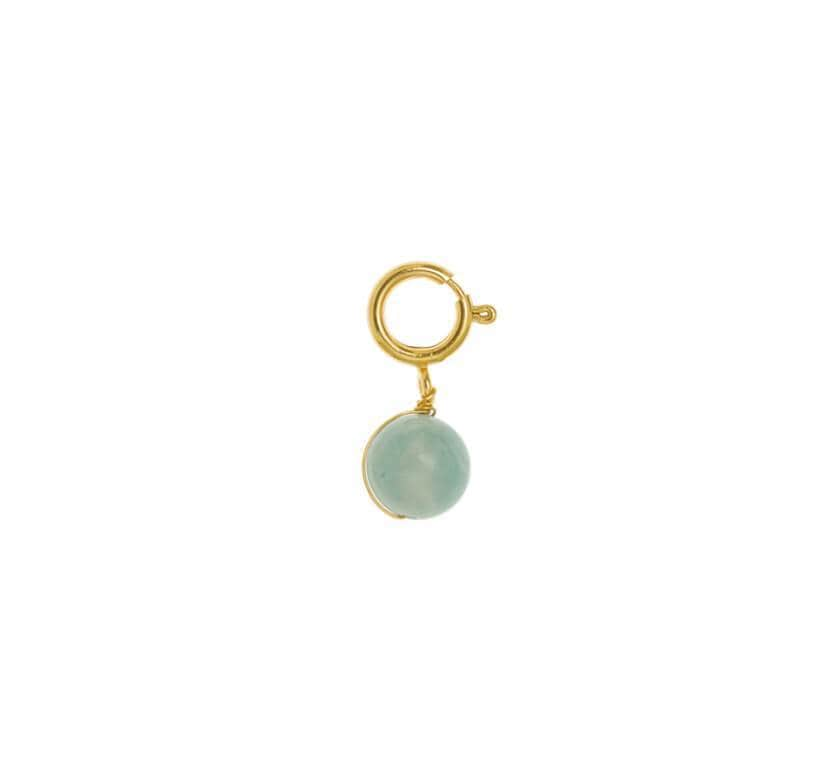 Charms Boule en Agate Charms TIMELESS PEARLY