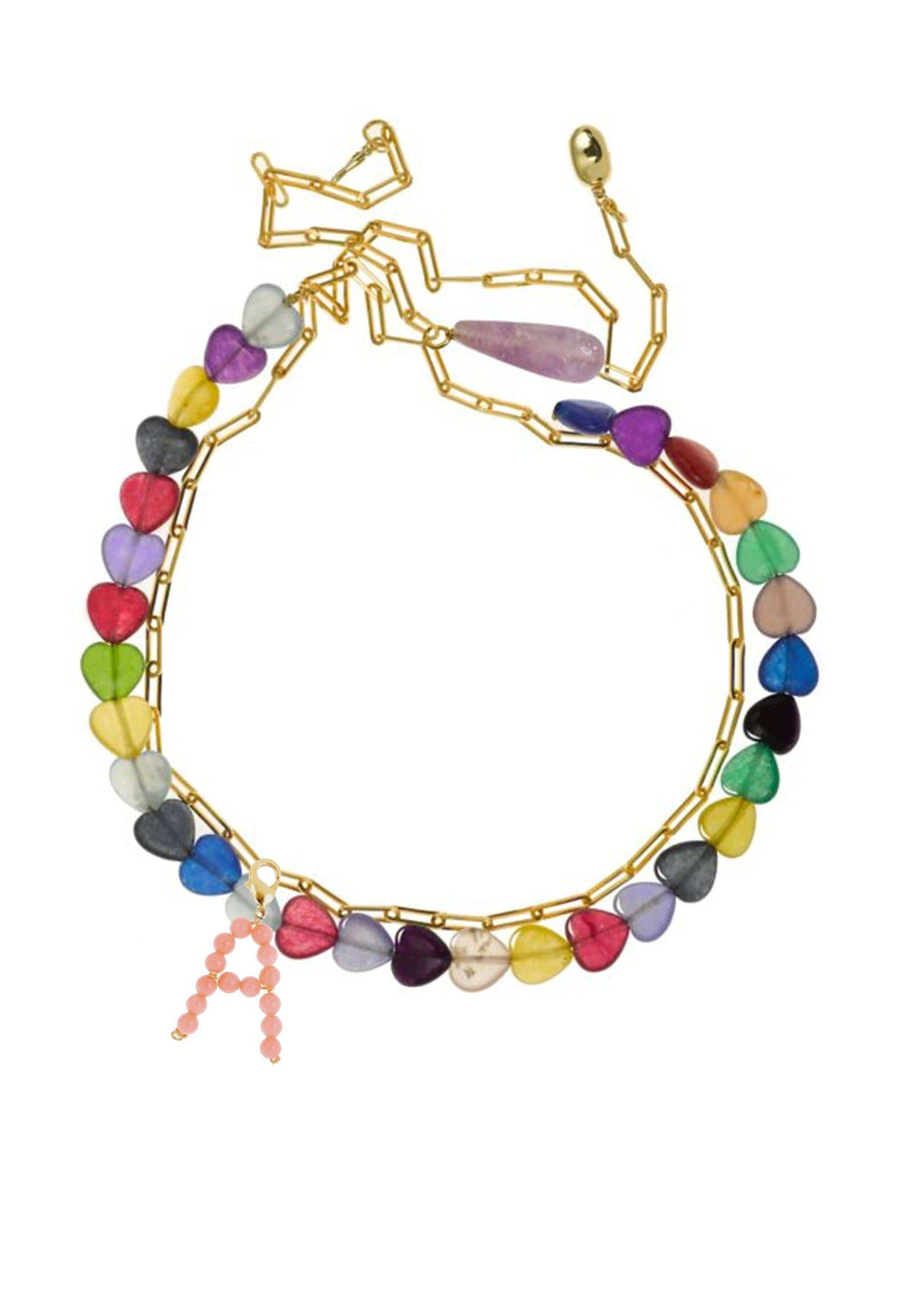 Collier Coeur Multicouleur Colliers TIMELESS PEARLY