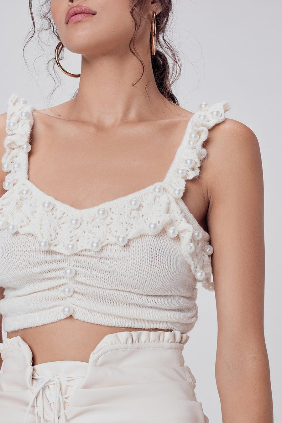 For Love & Lemons Pearl Sweater Cami I TownHouse Work/Shop