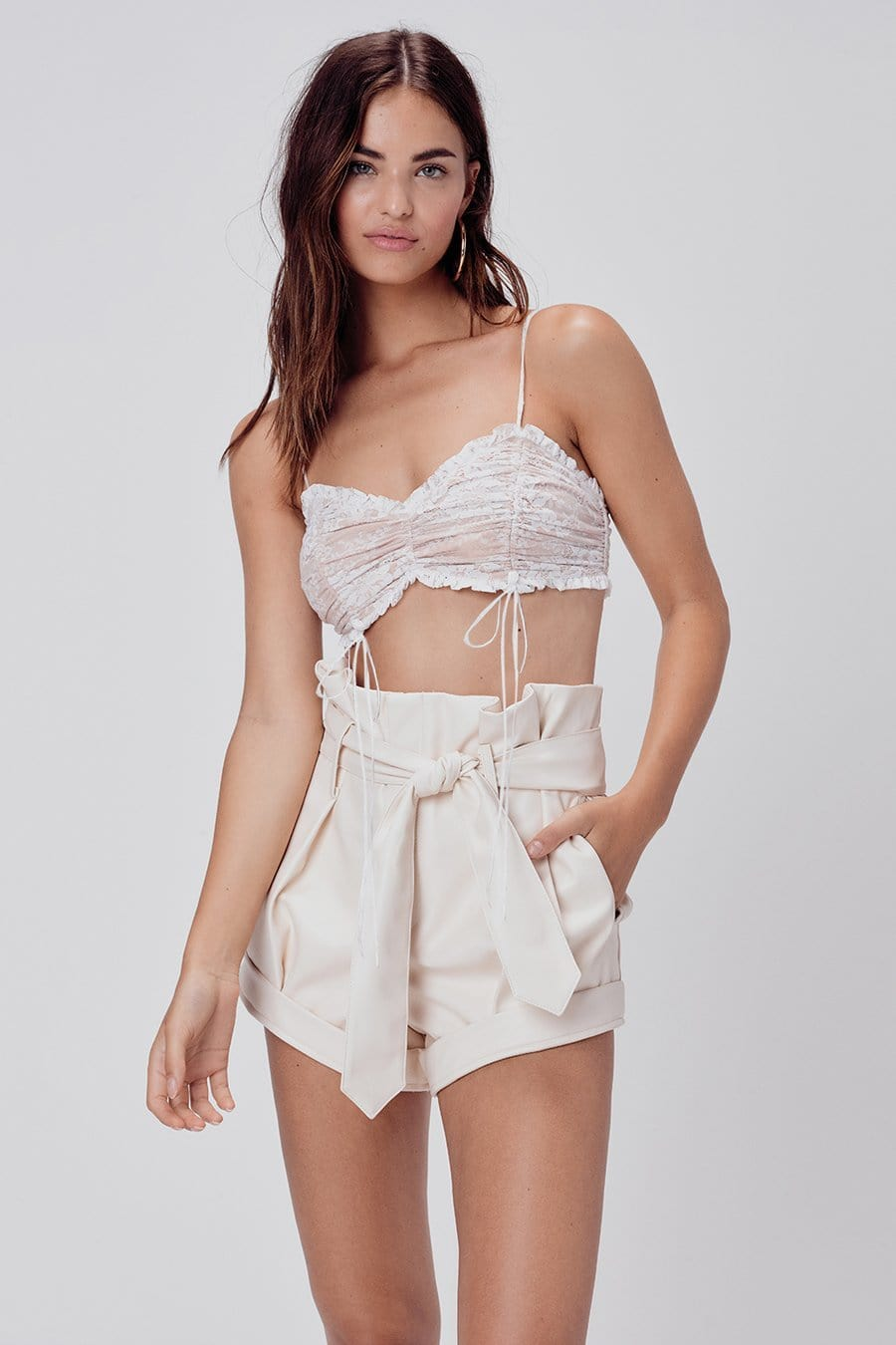 For Love & Lemons Afton Faux Leather Short I TownHouse Work/Shop