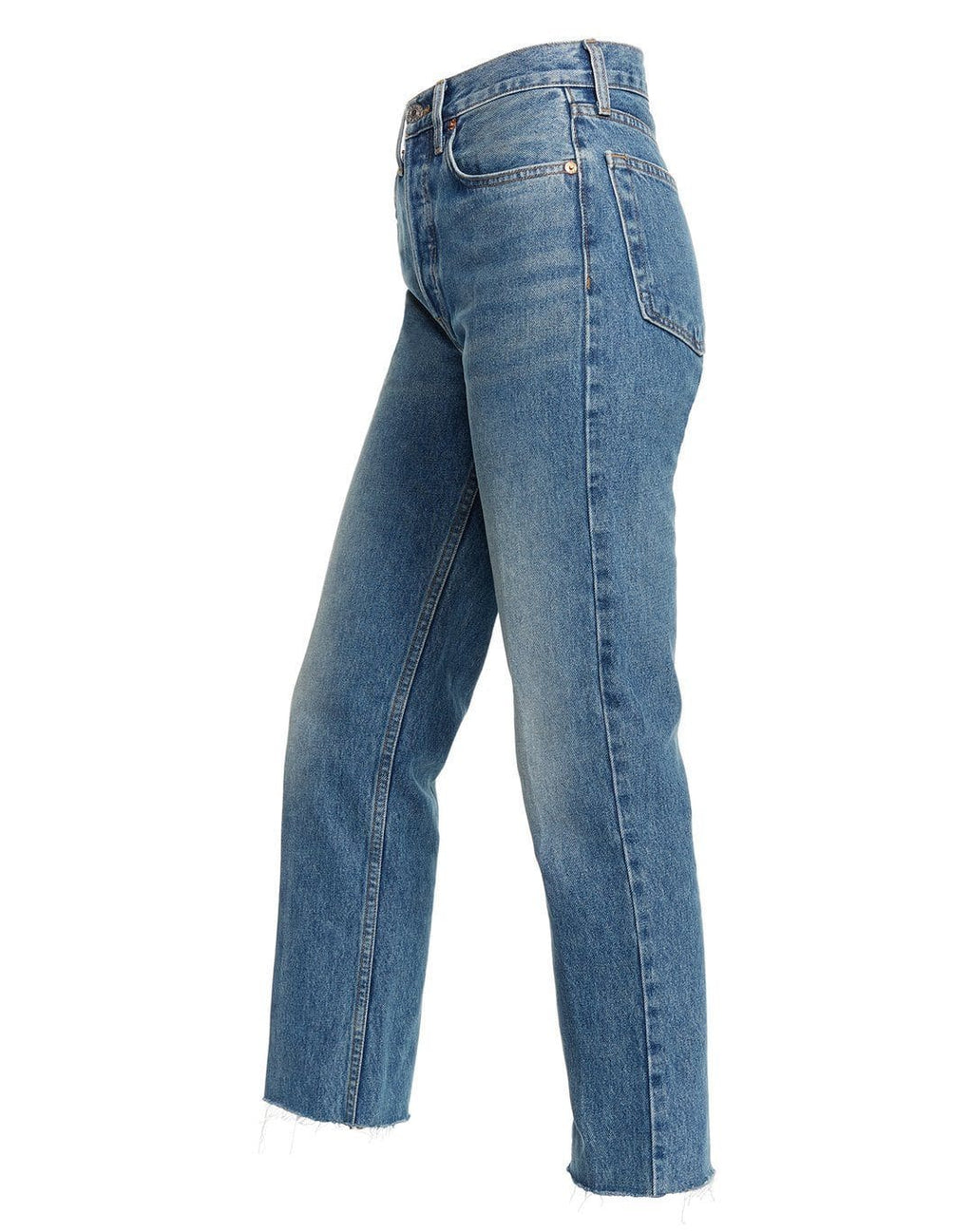Rigid Stove Pipe high-rise jeans Jean RE/DONE