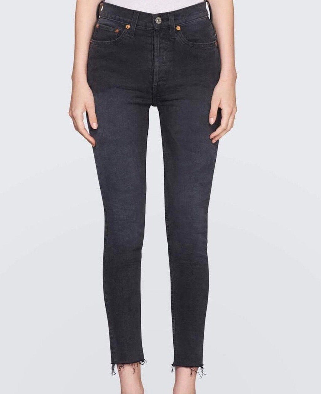 High Rise Ankle Crop Jean RE/DONE