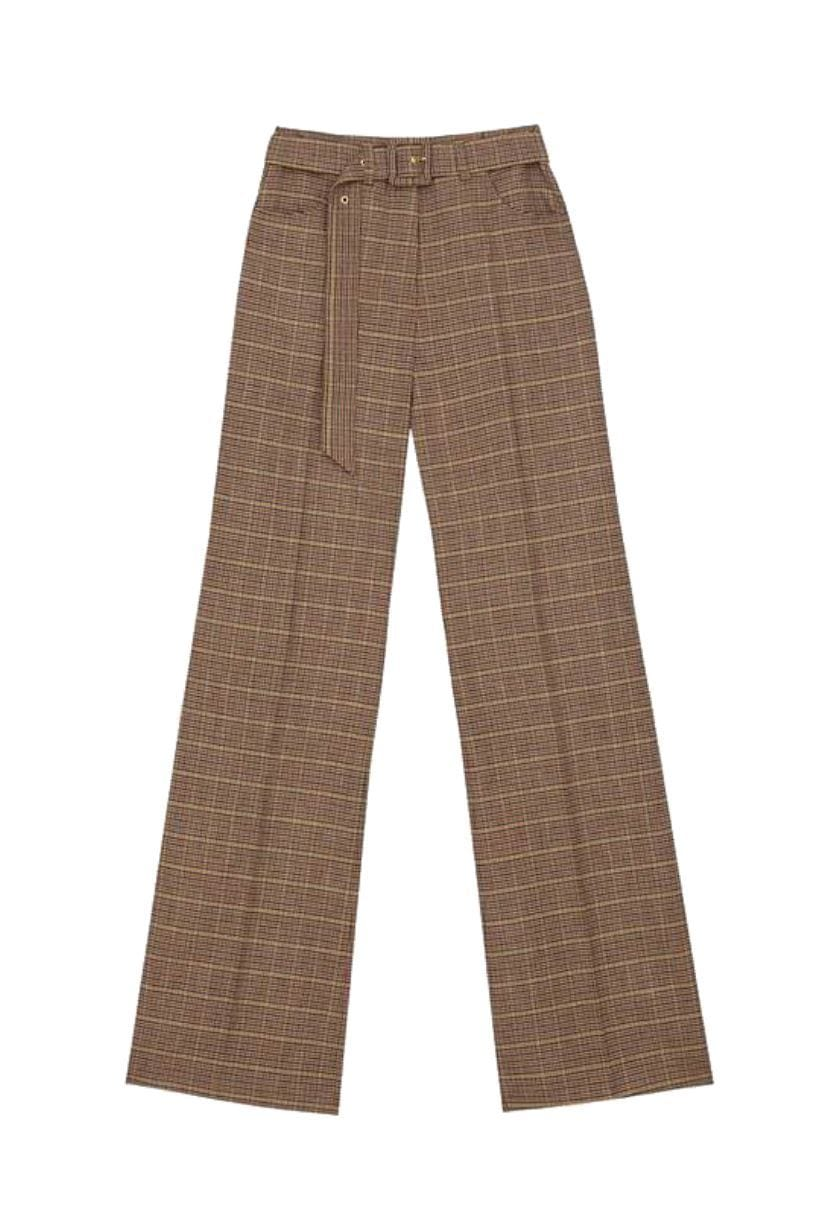 Nanushka Clara Belted Flared Pants I Townhouse Work/Shop