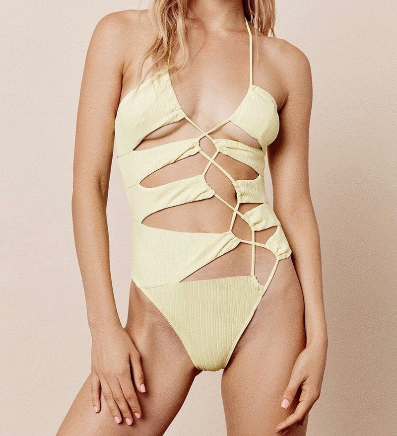 Iman Laced One Piece Maillot de Bain FOR LOVE & LEMONS