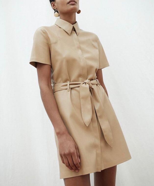 Robe en cuir vegan - TownHouse Work/Shop