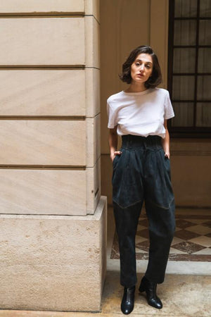 Pantalon en Daim - TownHouse Work/Shop